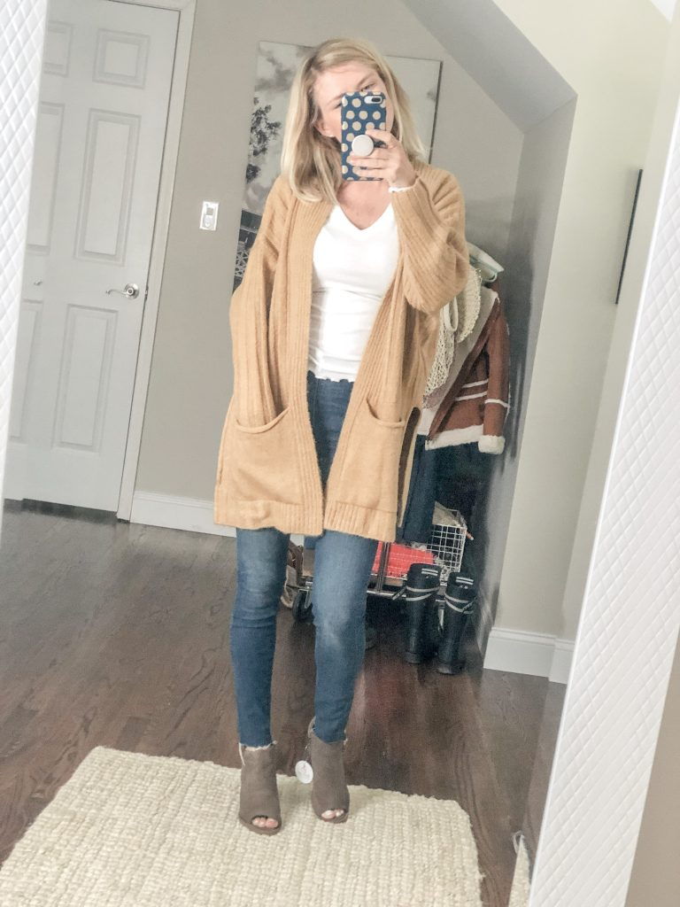 Topshop Long Cardigan from Nordstrom