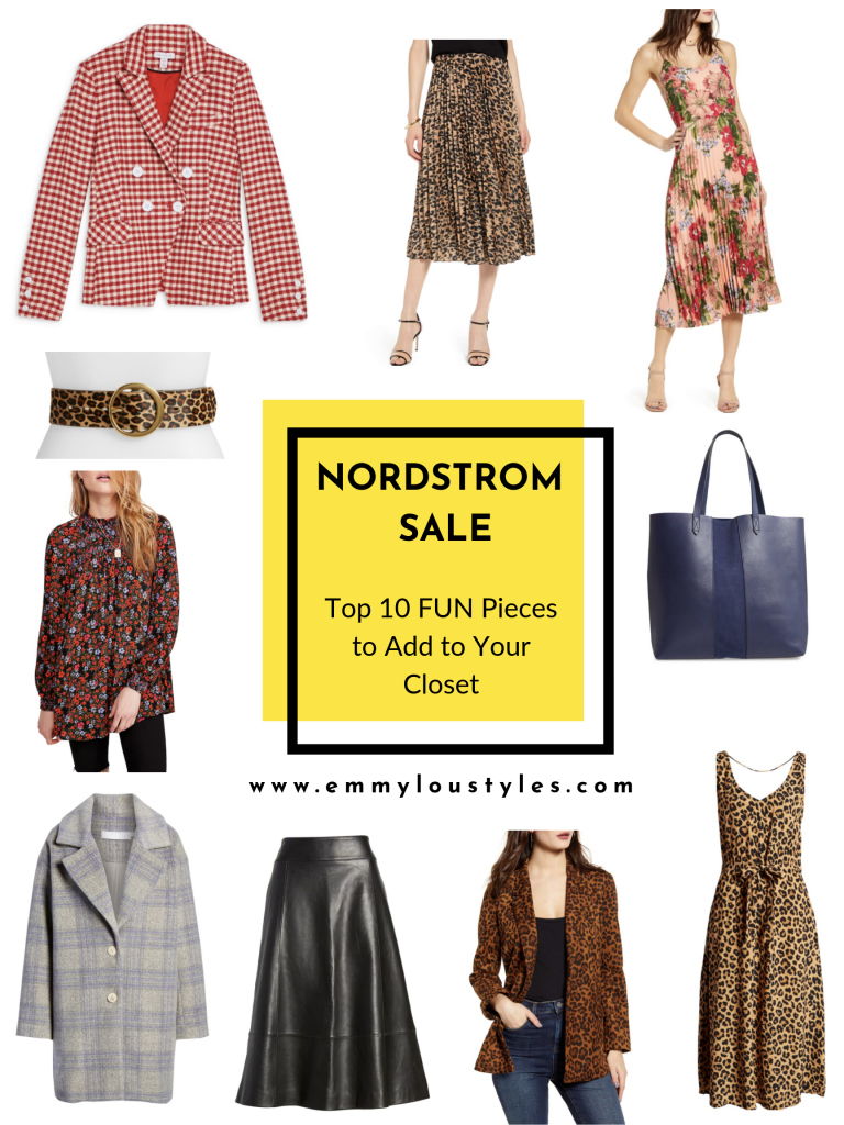 Top 10 Fun pieces from Nordstrom