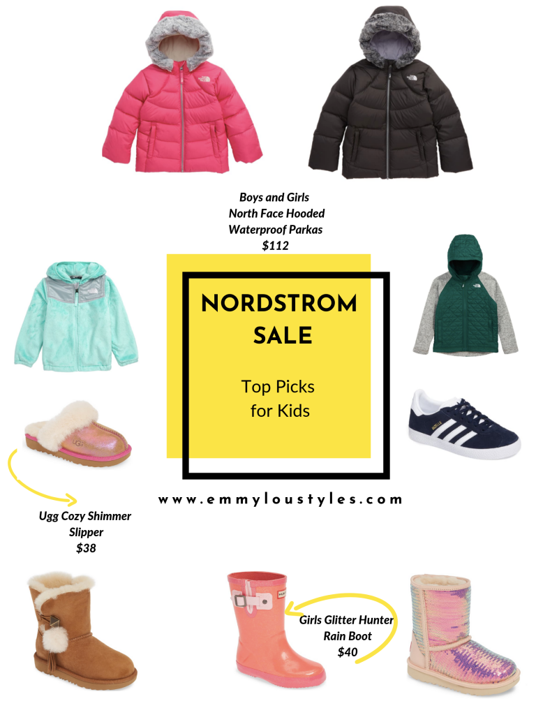 Top Kids Shoes and Jacket picks from the Nordstrom Sale