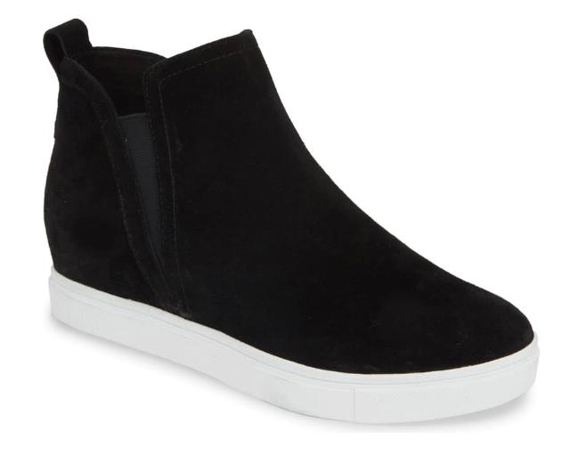 NSale Blondo Black Sneaker Bootie