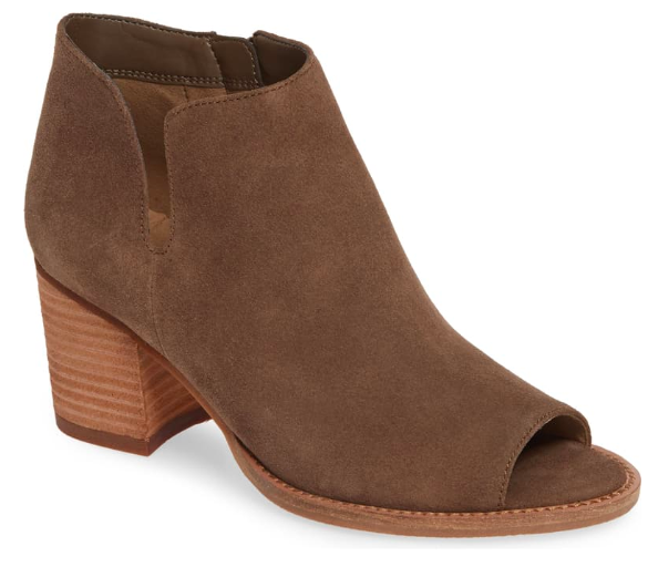NSale Blondo Open Toe Bootie