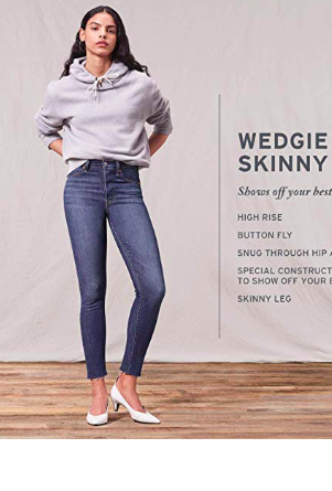 Levis 721 Wedgie Fit on Amazon