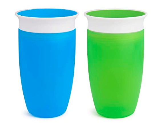two pack munchkin miracle sippy cups