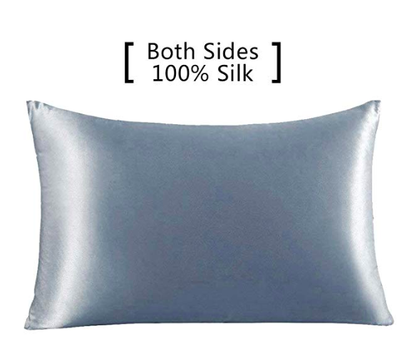 Amazon Prime silk pillowcases help with hair and skin
