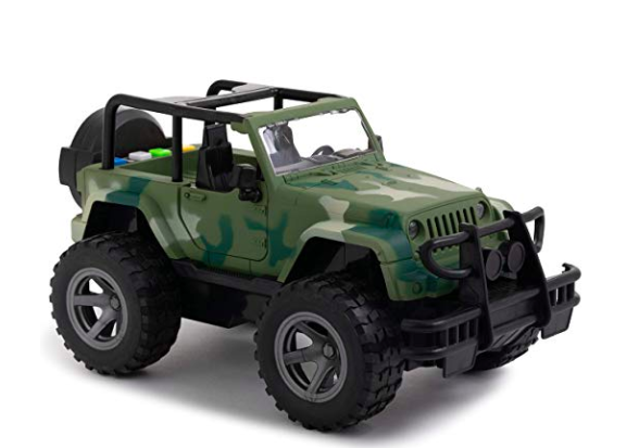 Little boys toy jeep