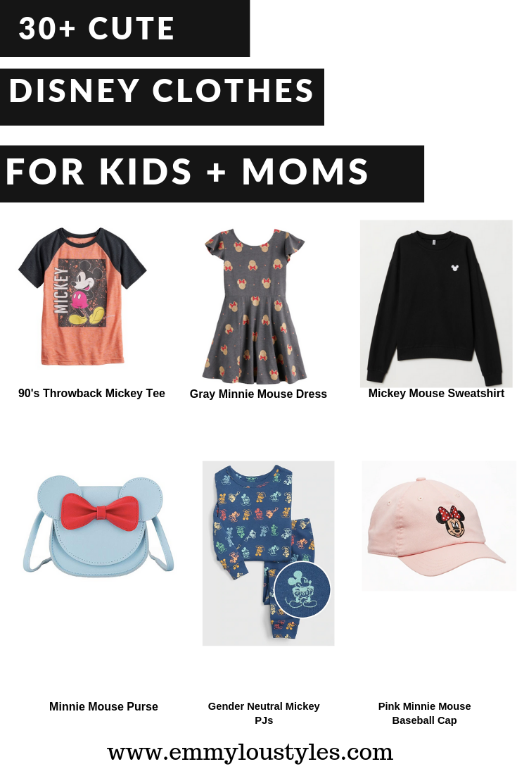 Cute Disney Clothes:  30+ Finds for Kids and Moms