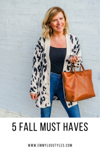 5 fall must haves for your closet in 2019