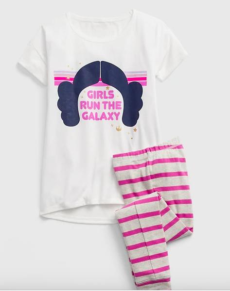 Gap Kids Girls Star Wars Pajamas