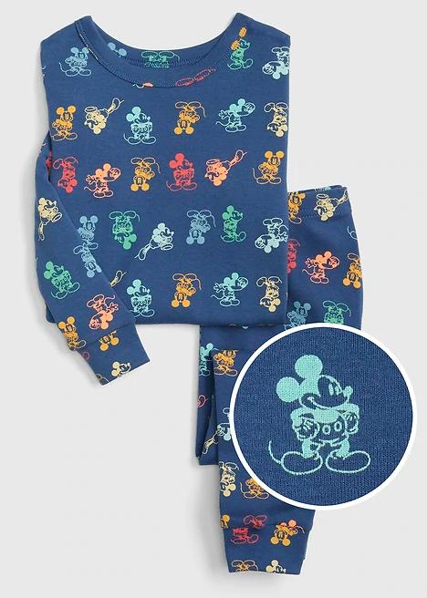 Gap Kids Mickey Mouse Multi Pajama Set