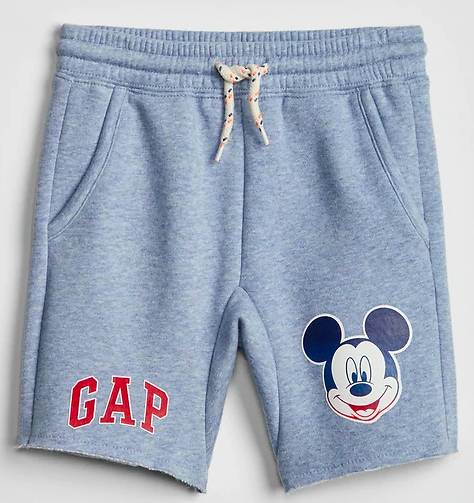 GapKids Mickey Mouse Boys Shorts