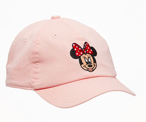 Girls Minnie Mouse baseball cap from Old Navy