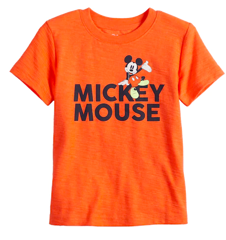 Mickey Mouse Shirt for boys from Kohls