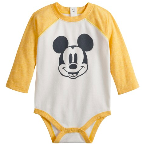 Mickey Mouse baby onesie