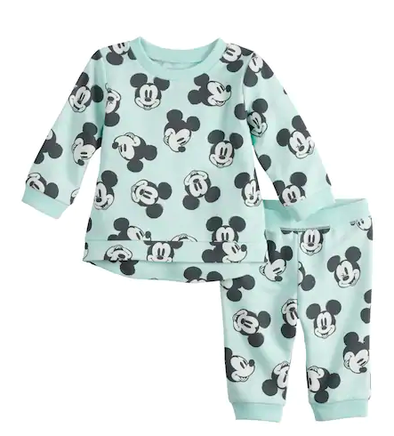 Mickey Mouse gender neutral pajamas