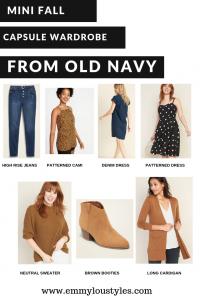 Mini Fall Capsule Wardrobe - Old Navy