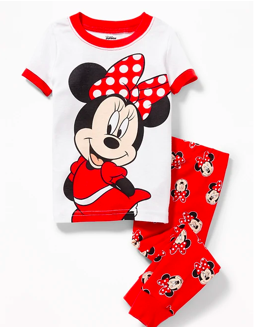 Minnie Mouse Pajamas from Old Navy