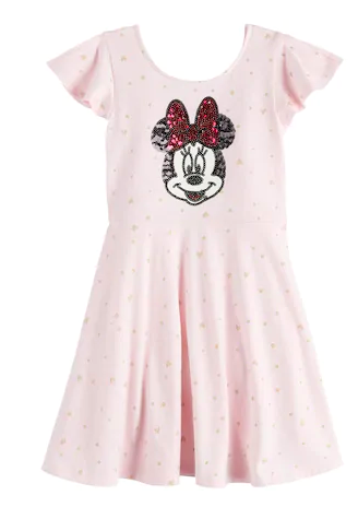 Minnie Mouse sequin dress for girls