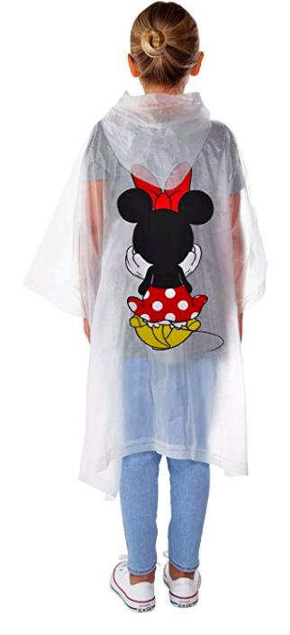 Disney Rain Poncho for kids