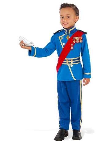 Toddler Boy prince charming costume