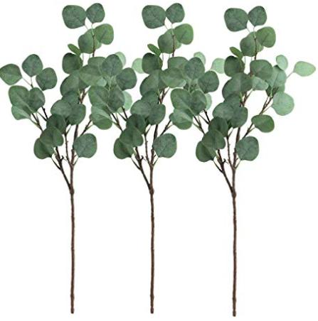 Faux Eucalyptus for adding to vases