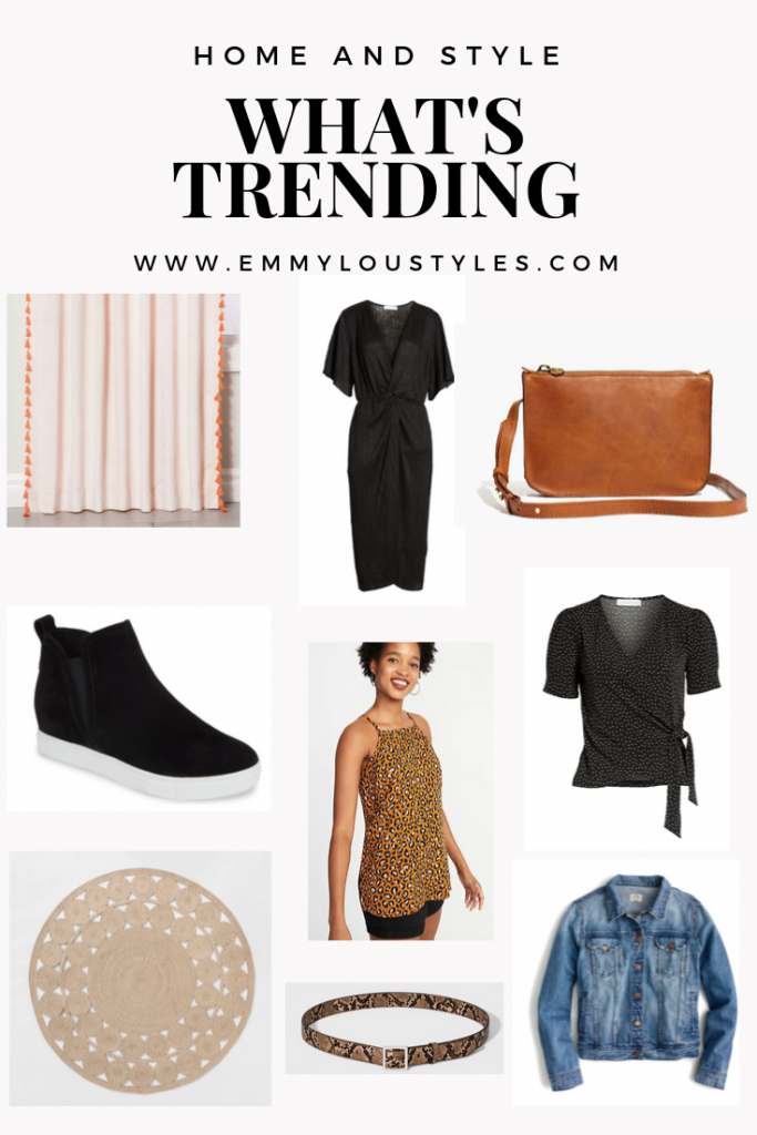 A round up of what is trending in home and style among Emmy Lou Styles followers.