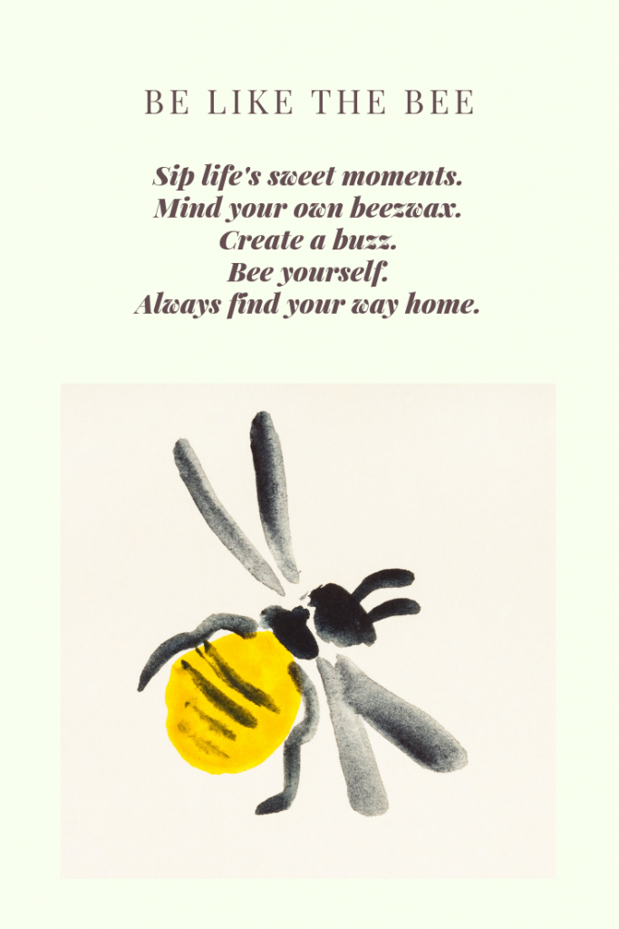 a quote about bees