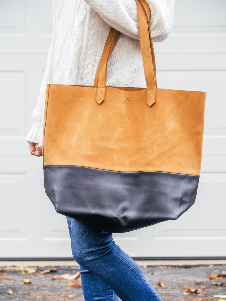 Women carrying the Nisolo Lori Tote
