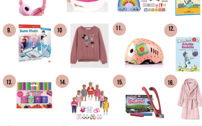 20 + Gifts for girls ages 5 to 7