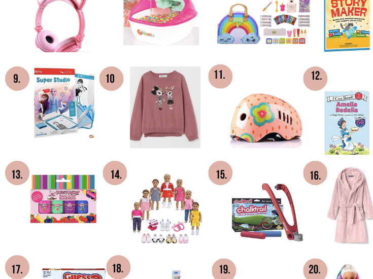20+ Holiday Gift Ideas for Girls Ages 5-7