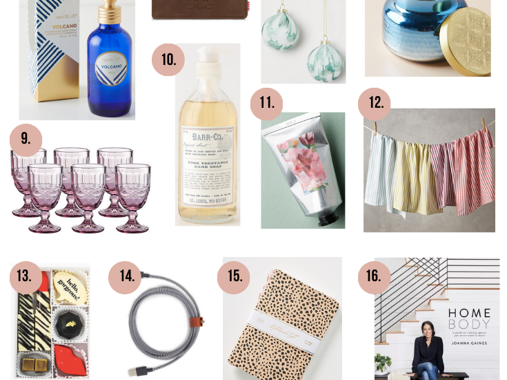 Holiday Gift Ideas for Teachers, Hosts/Hostesses, and Service Friends