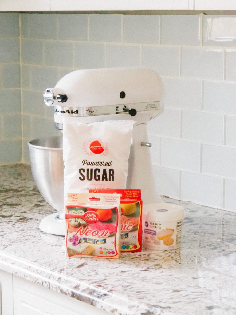 royal icing ingredients and supplies