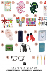 17 Last Minute Stocking Stuffer Ideas for the Whole Family