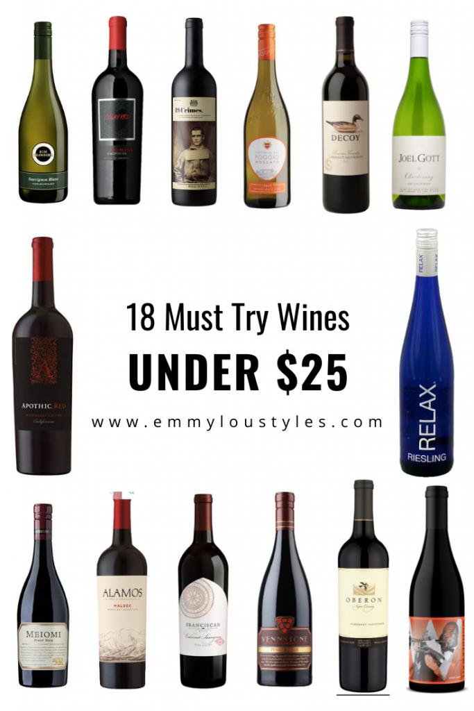 18 Wines Under $25