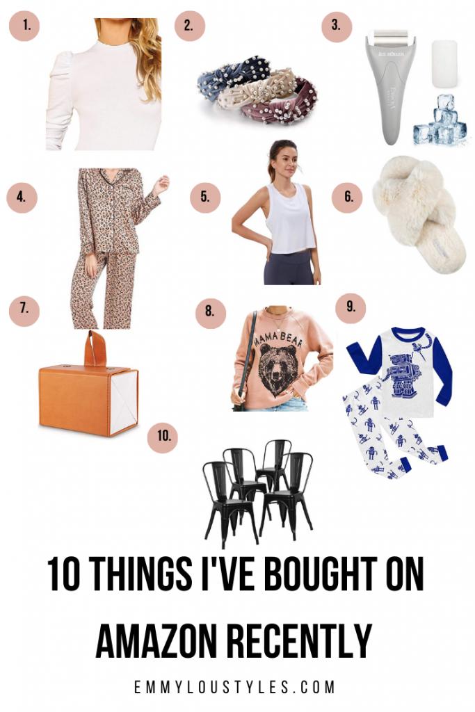 10 Recent Amazon Purchases
