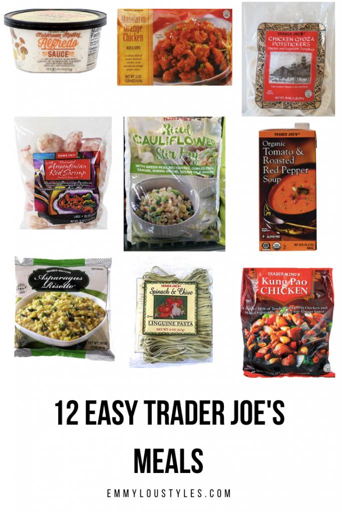 12 Easy Trader Joe's Meals