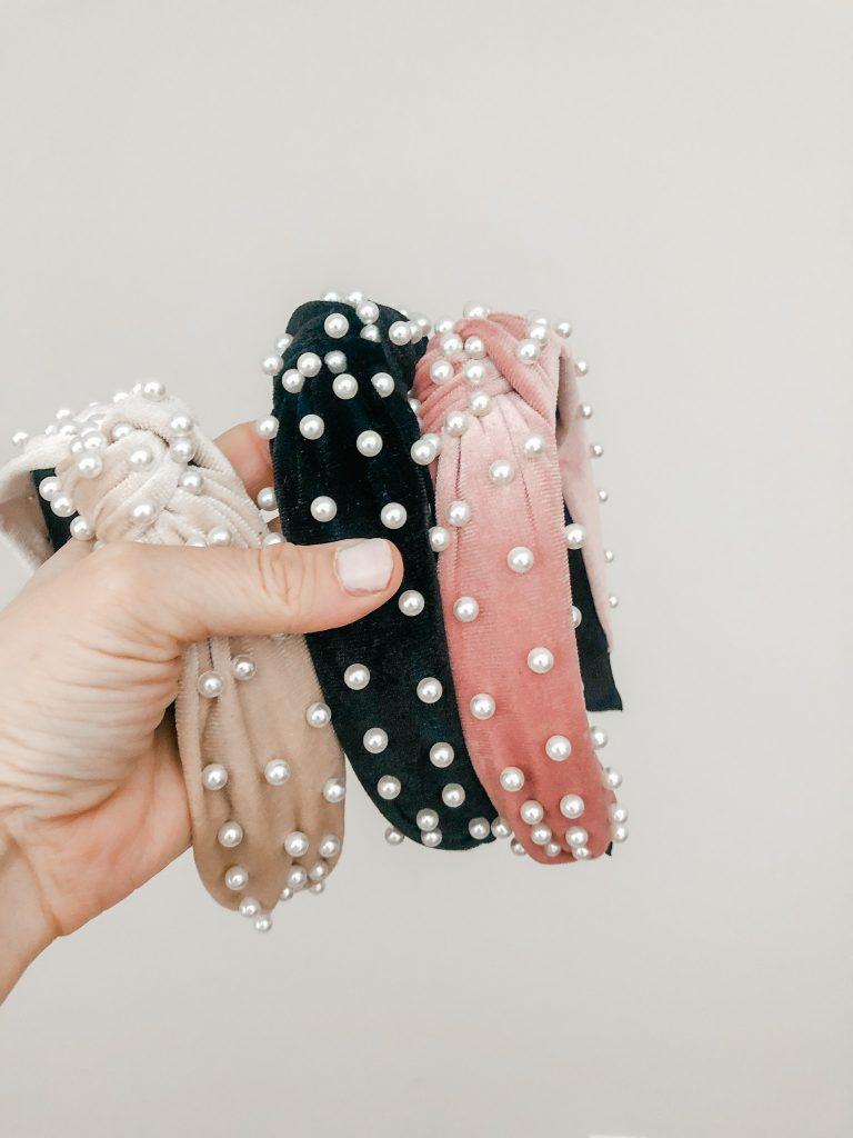Recent purchases from Amazon_velvet beaded headbands