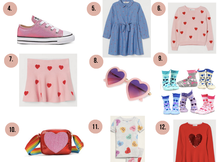 Valentine's Day Clothes for Women and Kids