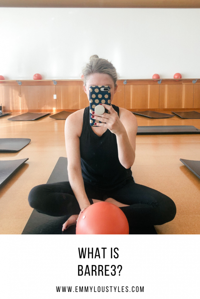 Missouri lifestyle blogger Emmy Lou Styles shares about barre3