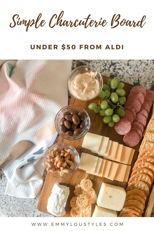Simple Charcuterie Board Under $50 from Aldi (2)