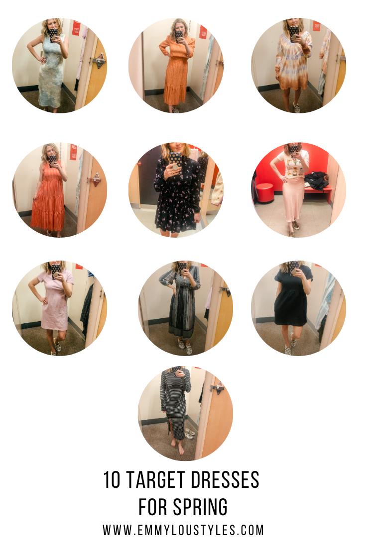 10 Target Dresses for Spring