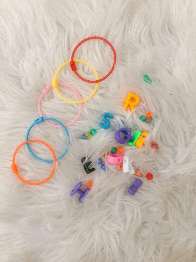 plastic bracelets for pony beads
