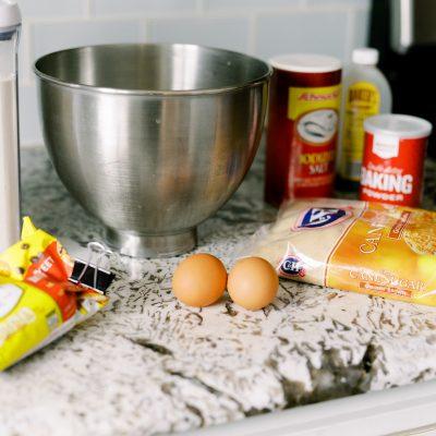 easy chocolate chip banana bread recipe
