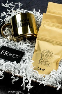 Mother's Day gift set from FR and Co featuring coffee and a coffee mug
