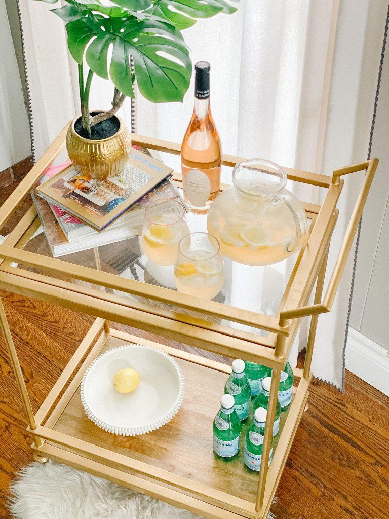 ingredients needed for rose lemonade