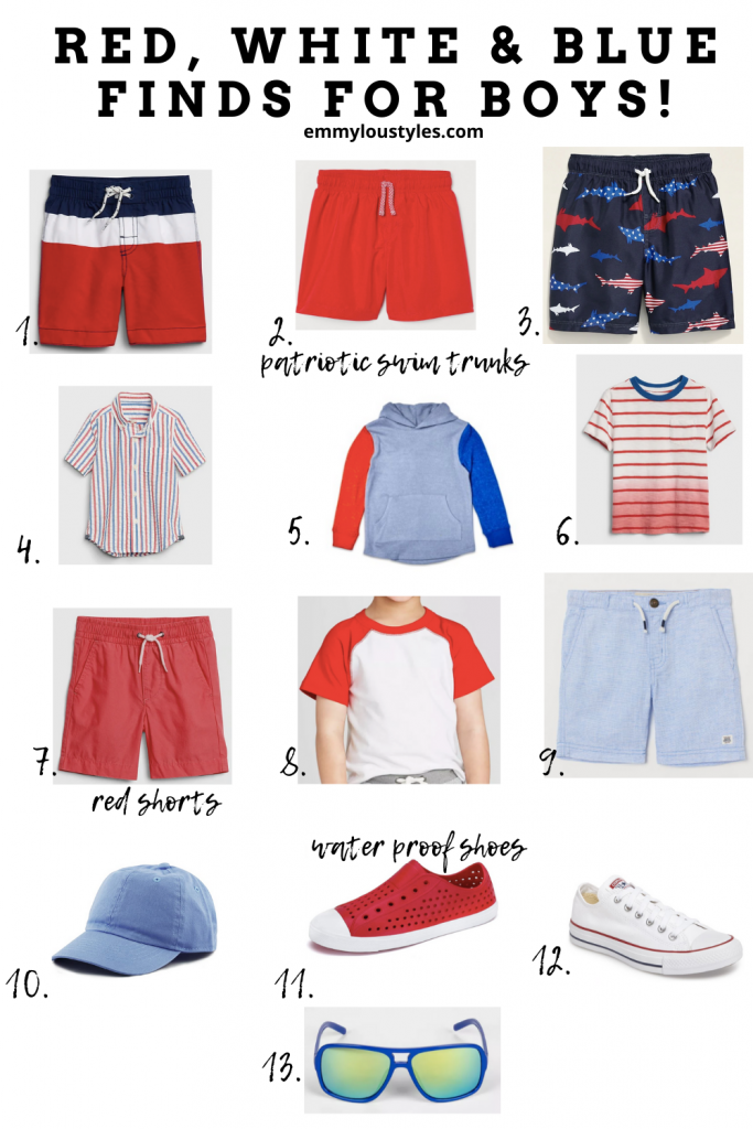 summer outfits for boys