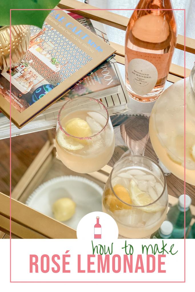 how to make rose lemonade