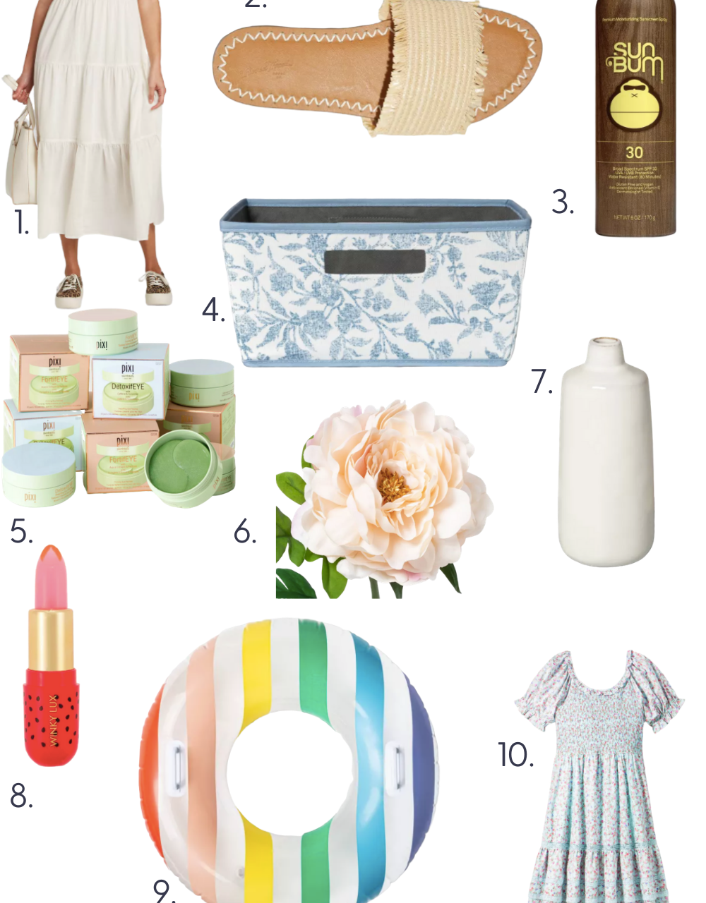 10 Summer Must Haves from Target