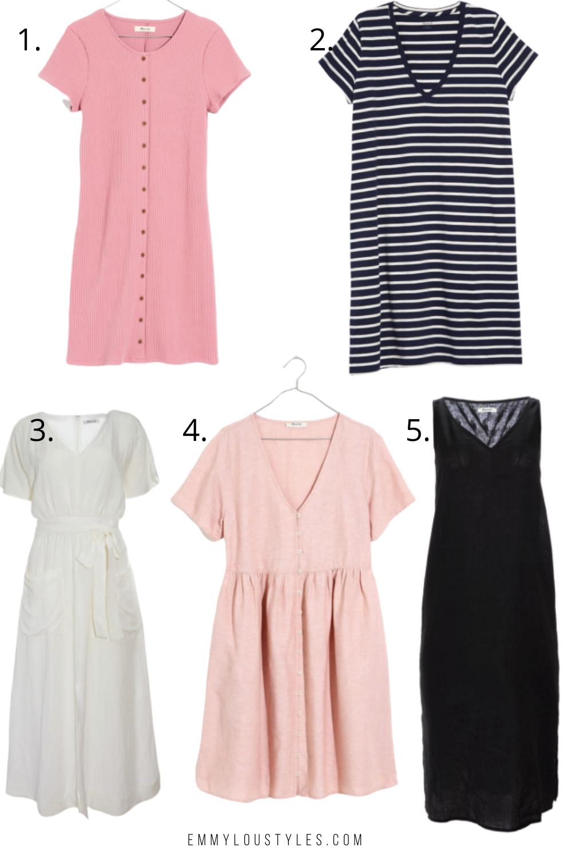 Madewell dresses for summer