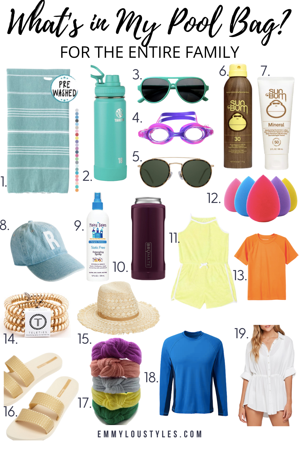 What's in my Pool bag