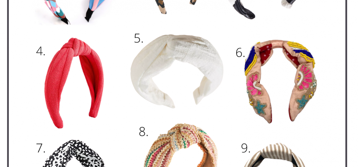 12 Must-Have Knotted Headbands